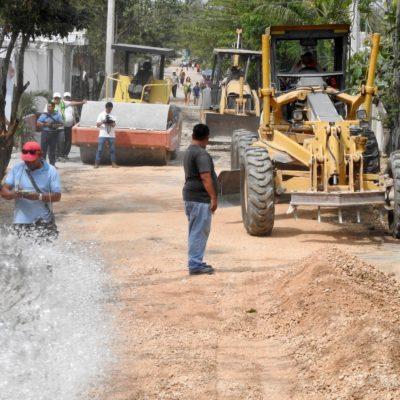 Asegura Alcalde que se han realizado obras en 35 colonias irregulares de Cancún