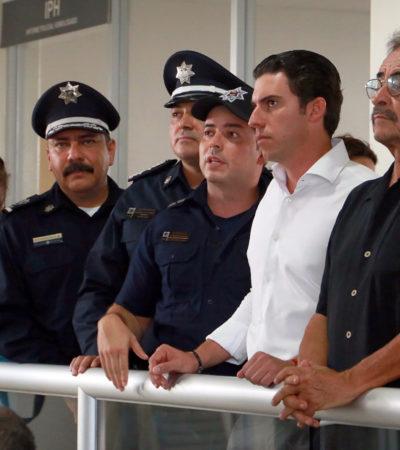 Entrega Alcalde 100 equipos para patrullas y suman otras herramientas para dar mejores resultados en seguridad para Cancún