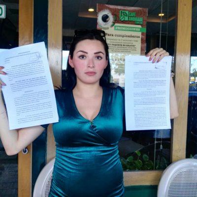 Mujer embarazada acusa a ministeriales de supuestamente 'venderse' con su ex pareja, el director del proyecto 'Ynfinity'