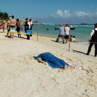 Se ahoga turista en Playa del Carmen