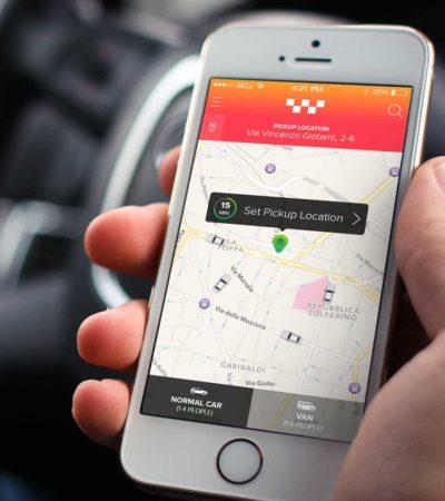 Piden taxistas apoyo para tener su propia aplicación digital