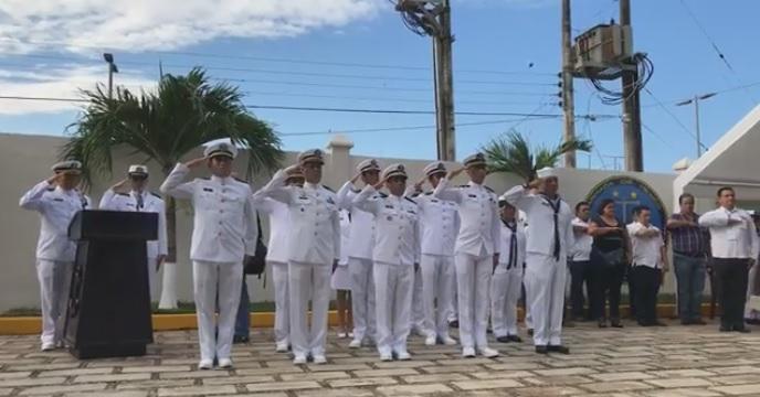 Promueven ascensos en la XI Zona Naval de Chetumal