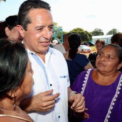 Confirma Carlos Joaquín entrega de 100 toneladas de semilla de frijol Jamapa para sembrar 10 mil hectáreas en este ciclo otoño-invierno