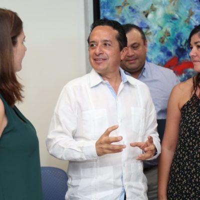 "Convoca Gobernador a asociaciones a trabajar juntos ""para restablecer el tejido social"" en Quintana Roo"