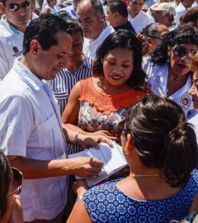Destaca Gobernador atención a más de 25 mil 400 habitantes como parte de programa de caravana de servicios gratuitos