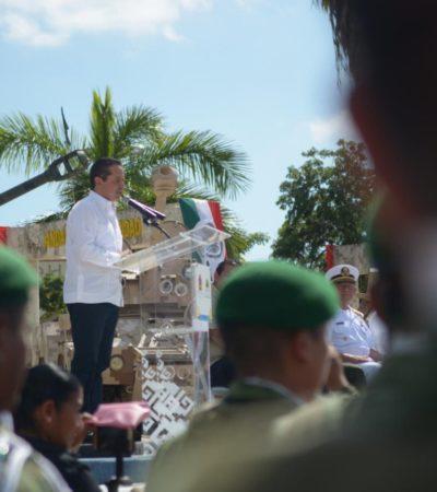 Seguridad, una de nuestras principales preocupaciones: Carlos Joaquín