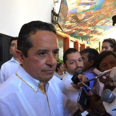 DEFIENDE GOBERNADOR ALZA AL IMPUESTO AL HOSPEDAJE: Pide Carlos Joaquín hacer un esfuerzo, por tiempo definido y con transparencia, para reforzar la seguridad de Quintana Roo