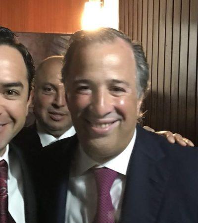 """ECOS DEL 'DESTAPE': """"Meade es hombre de resultados"""", dice 'Chanito' Toledo; ni Beltrones ni Ivonne Ortega felicitan al aspirante a la silla presidencial; panista… le echa flores"""