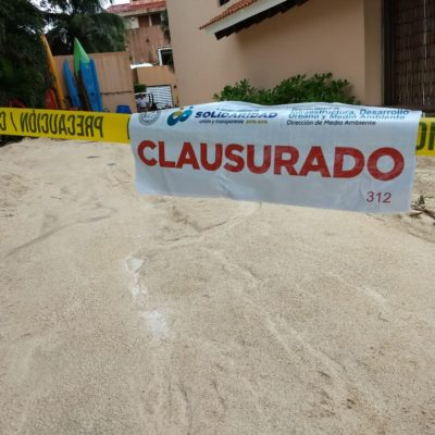 Da Solidaridad 48 horas a hoteles de Puerto Aventuras para presentar documentos ambientales