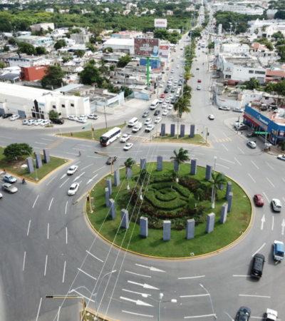Alistan segunda etapa de rediseño vial de la Avenida Kabah de Cancún