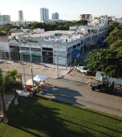 """Ofrecen despejar plantón contra la SEIDO en la Avenida Cobá """"a más tardar"""" tras el 'puente' de Día de Muertos"""