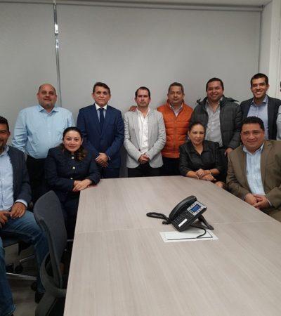 PRELIMINAR   Arman en CDMX 'Frente Amplio de QR' con jefe de Despacho del Gobernador