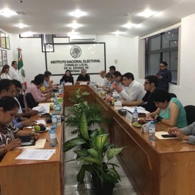 Designa Junta Local del INE a consejeros para los cuatro distritos electorales de Quintana Roo
