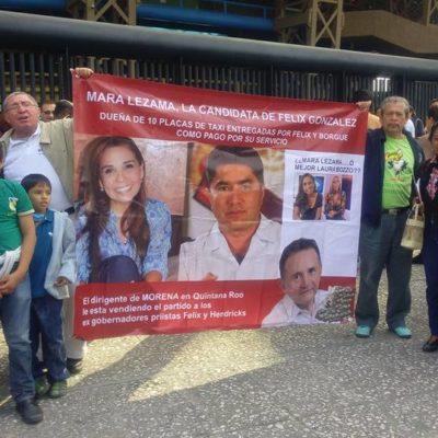 """""""ESTÁN VENDIENDO A MORENA AL PRI"""": Denuncian en Congreso Nacional a 'infiltrados' de Félix González en el partido de AMLO"""