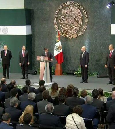 SALE MEADE DE HACIENDA PERFILADO PARA CANDIDATURA DEL PRI: Anuncia Peña Nieto a concuño de Carlos Salinas para SHCP y a Carlos Treviño en Pemex