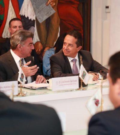 Asiste Gobernador a reunión de la Conago donde se discutió la Ley en Materia de Desapariciones Forzadas