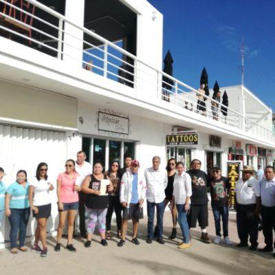 Protestan por obras de drenaje en Cozumel