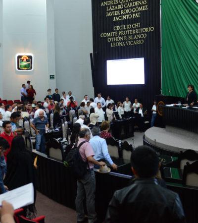 Turnan para su análisis en comisiones el Paquete Fiscal 2018 para Quintana Roo