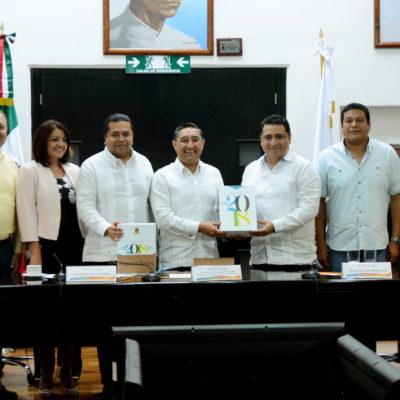 PRESUPUESTAN MÁS DE 28 MIL MDP PARA EL 2018: Recibe Congreso en tiempo y forma el Paquete Fiscal para Quintana Roo