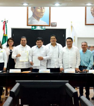 Concluye Congreso recepción de iniciativas de ley de ingresos de los municipios