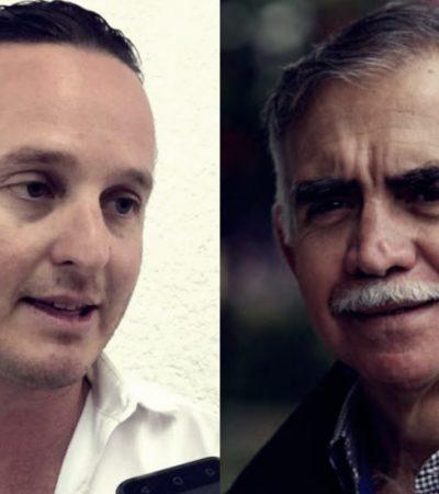 Rompeolas: Alfonso Romo se reúne con 'Frank' López en Cancún
