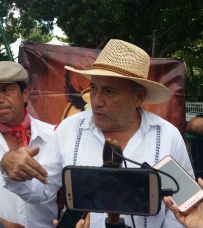 Con exhibición taurina, protestan frente al Ayuntamiento en Cancún contra iniciativa de Ley de Bienestar Animal