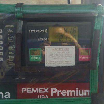 Sin quejas en el primer día de la liberación de precio de combustible