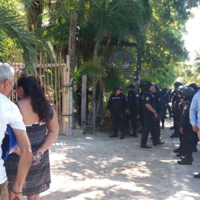 TULUM SIGUE EN LA INCERTIDUMBRE: Ordena juez desalojar tres hoteles de Punta Piedra que acaban de ser restituidos a sus posesionarios originales