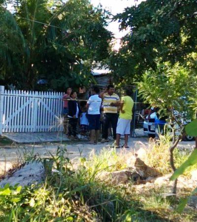MUERE HOMBRE AL BRINCAR BARDA DE SU PROPIA CASA: Su esposa lo maltrataba y lo dejó fuera por llegar ebrio, pero se golpeó al saltar