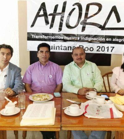 Firma Adrián Chicatto código de ética de 'Ahora' en busca de candidatura independiente por BJ