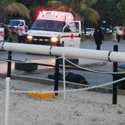 DOS EJECUTADOS MÁS EN CANCÚN: Balean a un joven en fraccionamiento Prado Norte y a otro más en la Multiplaza de Cancún