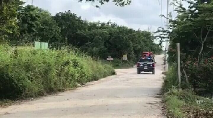 HALLAN RESTOS HUMANOS EN EL PEDREGAL: Encuentran cuerpo parcialmente quemado en la colonia irregular de Cancún
