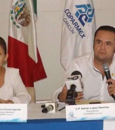 """""""EL OBJETIVO DE HACERSE NOTAR YA SE CUMPLIÓ"""": Reprueba Coparmex bloqueo de avenida en Cancún por protesta contra la SEIDO"""