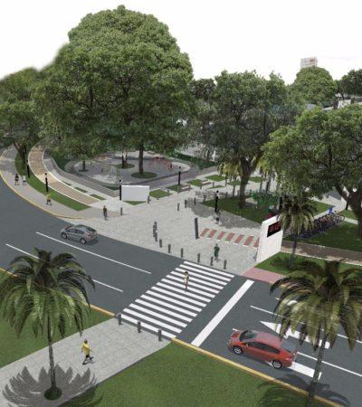 Pese a quejas, Fonatur planean terminar nuevo parque en el kilómetro Cero el 31 de diciembre