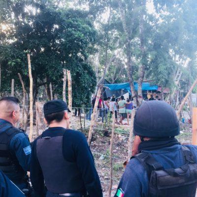 Denuncian intento de agresión en invasión de Tulum
