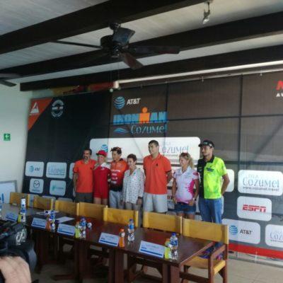 Aseguran edición 2017 del Ironman de Cozumel