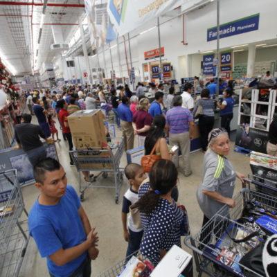 EL 'BUEN FIN' ANCLA EN CANCÚN: Se vuelcan consumidores a las tiendas en busca de las ofertas prometidas