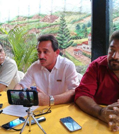 Morenistas presentan su propia iniciativa de Ley de Transporte… pero en el Congreso no se las quisieron sellar