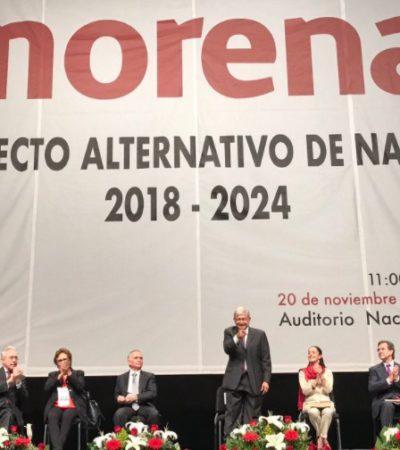 Candidatos de Morena serán por designación… y los 'pluris', por sorteo