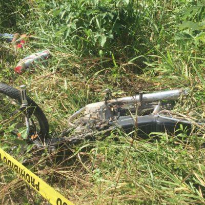 Muere motociclista en la carretera federal en FCP