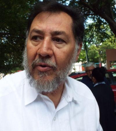 Reconoce Fernández Noroña errores en candidaturas de Morena en Quintana Roo, pero que hay que apoyar a AMLO