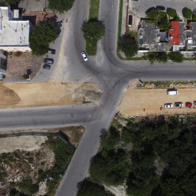 Con inversión de más de 23 mdp, construye comuna ampliaciones de avenidas estratégicas en Playa del Carmen
