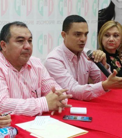 NO HAY CAMBIO EN EL PRI DE CANCÚN: Tras 'renovación', René Sansores sigue al frente de la dirigencia