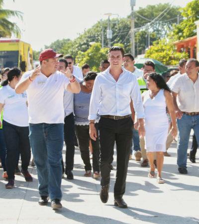 Confirma Alcalde proyecto integral para sustituir el actual alumbrado de Cancún con luminarias de última tecnología