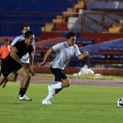 Realizan torneo de futbol entre empleados del Ayuntamiento de BJ