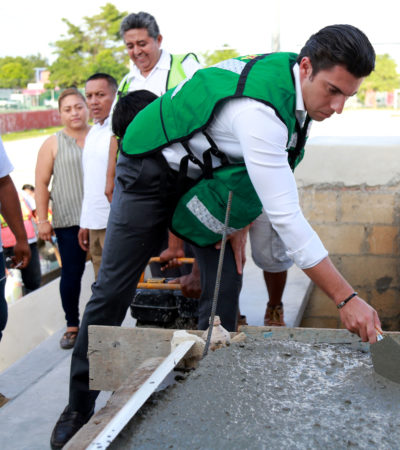 Ampliar infraestructura social, pilar de la estrategia de seguridad, dice Alcalde