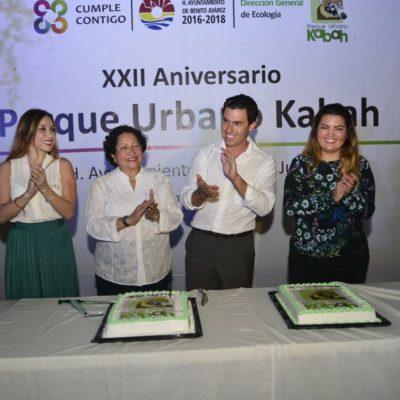 Al celebrar 22 años del parque Kabah, anuncian inversión de 9 mdp para remodelar esta Área Natural Protegida de Cancún