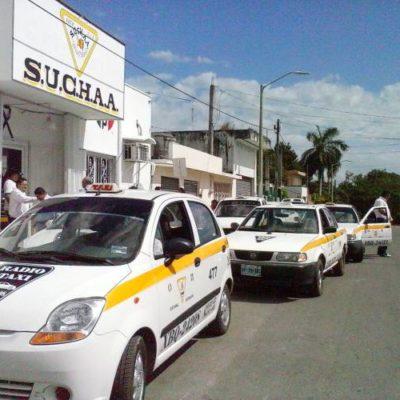Se enrarece clima en el Suchaa previo a la elección del nuevo dirigente de taxistas en Chetumal