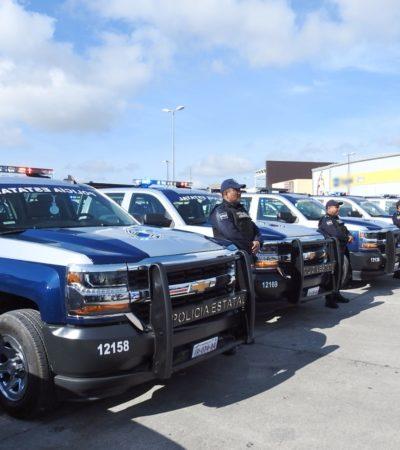 ACTIVA POLICÍA ESTATAL PUESTO DE MANDO EN COZUMEL: Perla Tun sigue sin aceptar patrullas en comodato que le ofrece el Gobernador