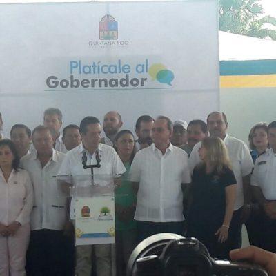 Atiende Carlos Joaquín a ciudadanos de Lázaro Cárdenas en audiencia pública
